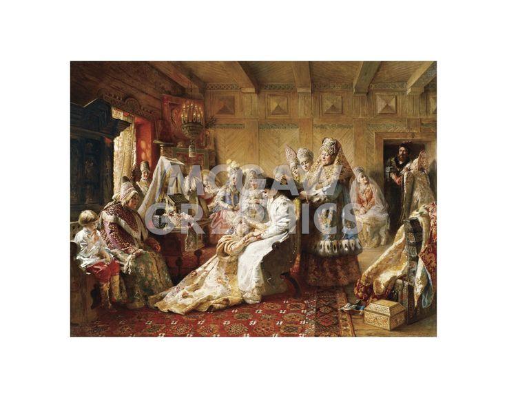 The Russian Bride's Attire, 1889