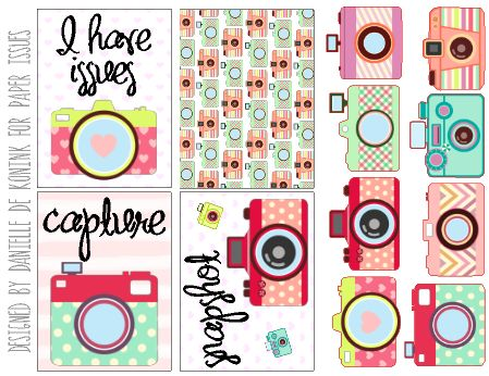 Planner & Journaling Printables ❤ Free Capture Journal Cards from Paper Issues {store checkout required}