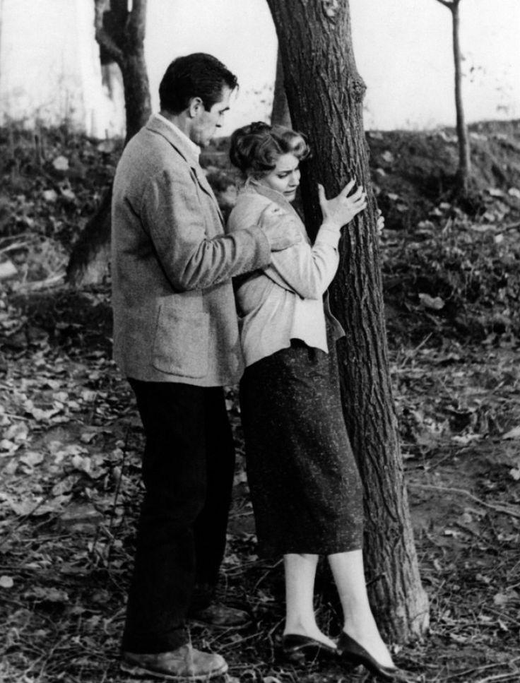 Steve Cochran & Alida Valli, Il grido, 1957