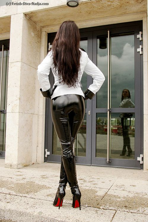 Girl bondage pants