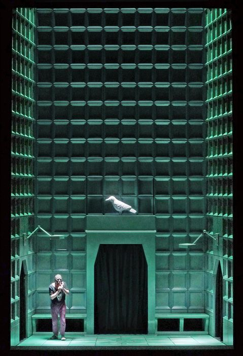 Siegfried, directed by Barrie Kosky, set and light design by Klaus Grünberg, 2011