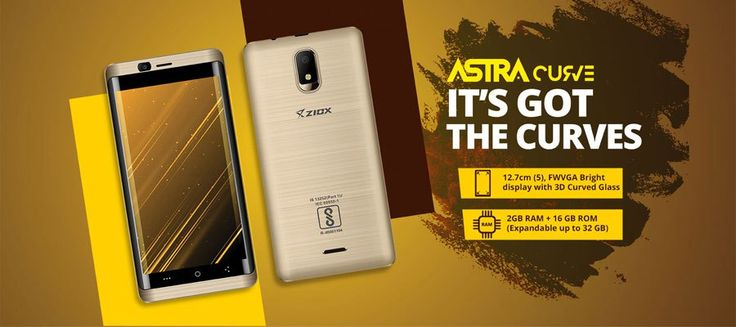Ziox Astra Curve 4G Smartphone Review - Day-Technology.com