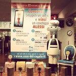 Contest: Vota i selfie con il cavatappi gigante dell'Alessi Anna G.