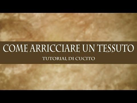 tutorial tovaglia country - YouTube