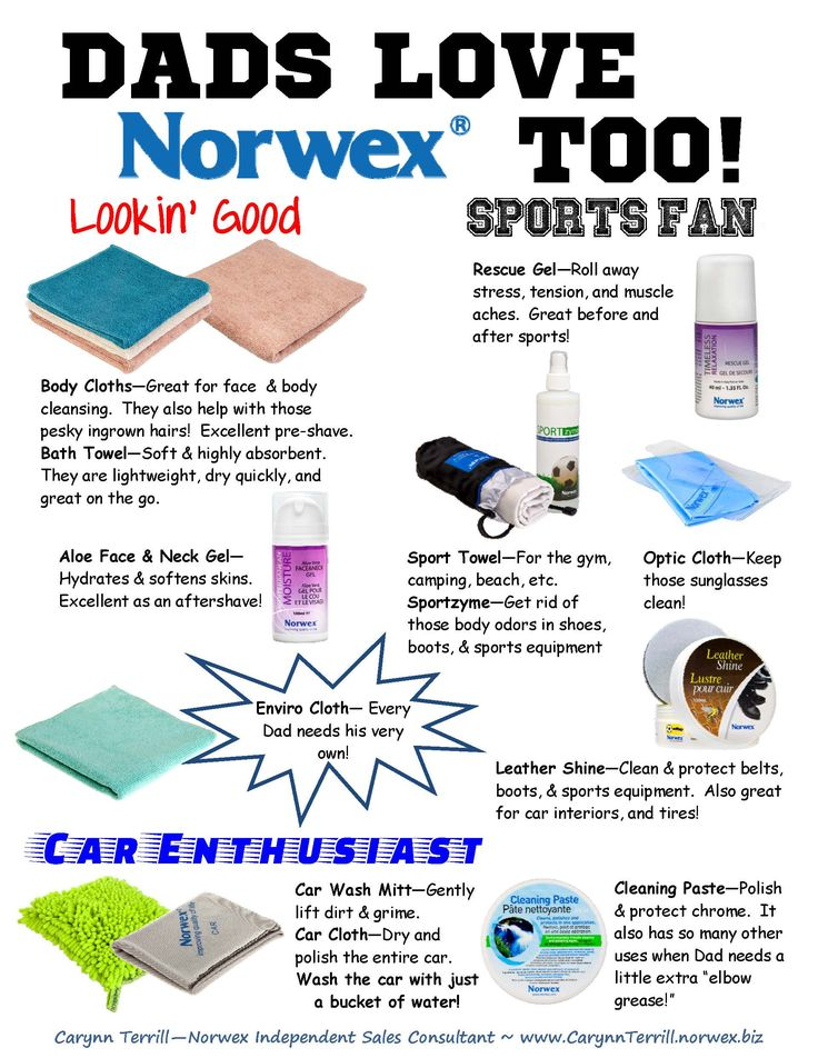 Did You Know That Dads Love Norwex Too Check Out These