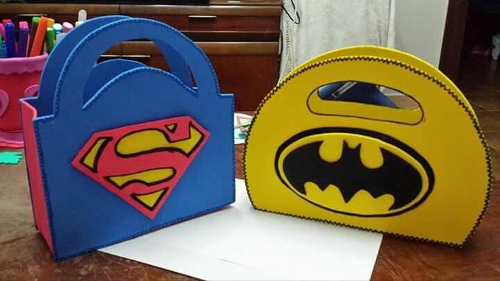 Dulceros superman y Robin