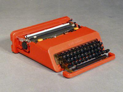 Ettore Sottsass Macchine da scrivere Valentine Prod. Olivetti