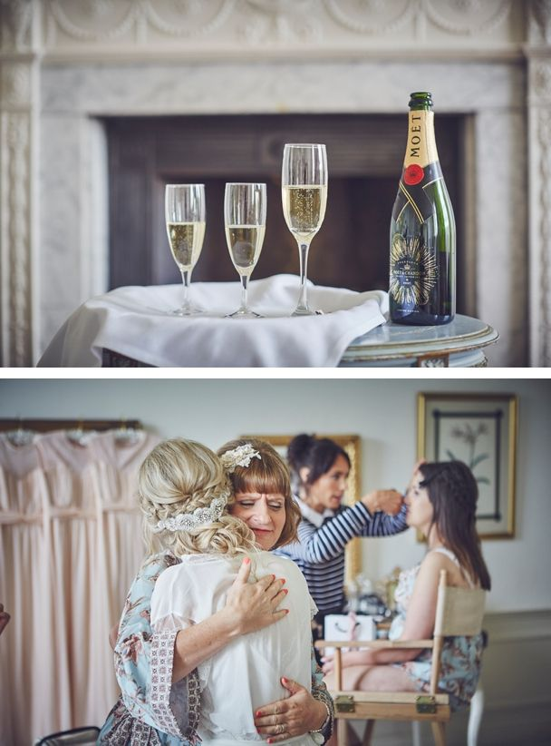 The stunning bridal suite at Katie and Phil's summer wedding at Pynes House near Exeter. Champagne obligatory. And Mum hug :) #pyneshouse #weddingmorning #devonwedding #devonweddingphotographer #devonweddingvenue #MOTB