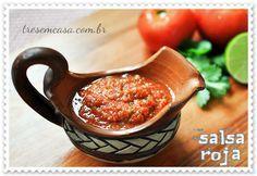 receita de molho mexicano