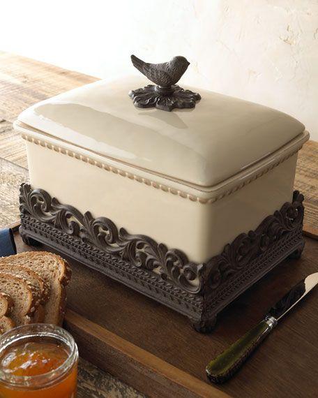 """House Finch"" Bread Box"