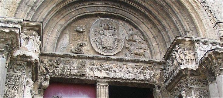 Majestas Domini, Saint Gilles du  Gard