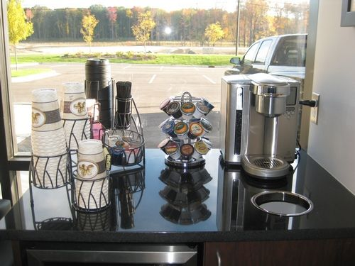 81 best images about office decor on pinterest entry for Coffee station decor
