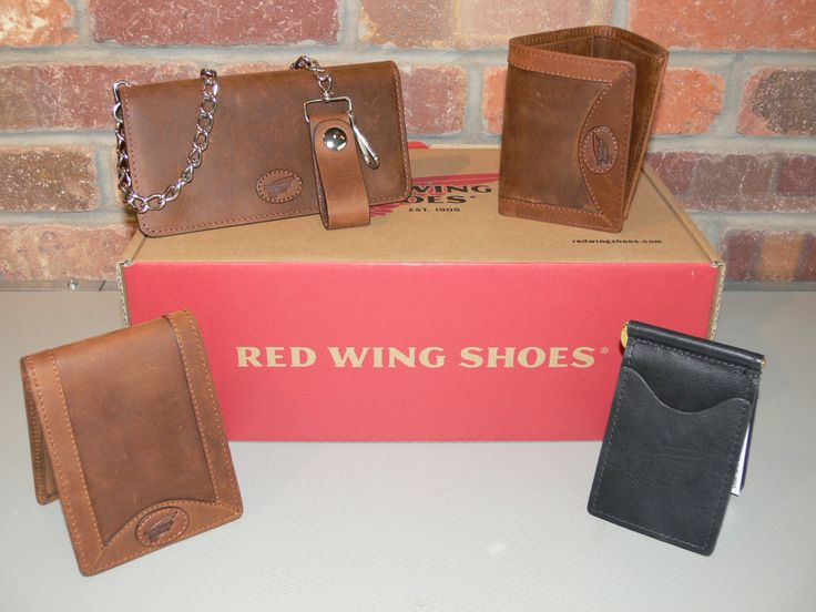 Red Wing Shoes has more than shoes! Need a leather wallet for your special guy? These range in price from $29.99 to $59.99