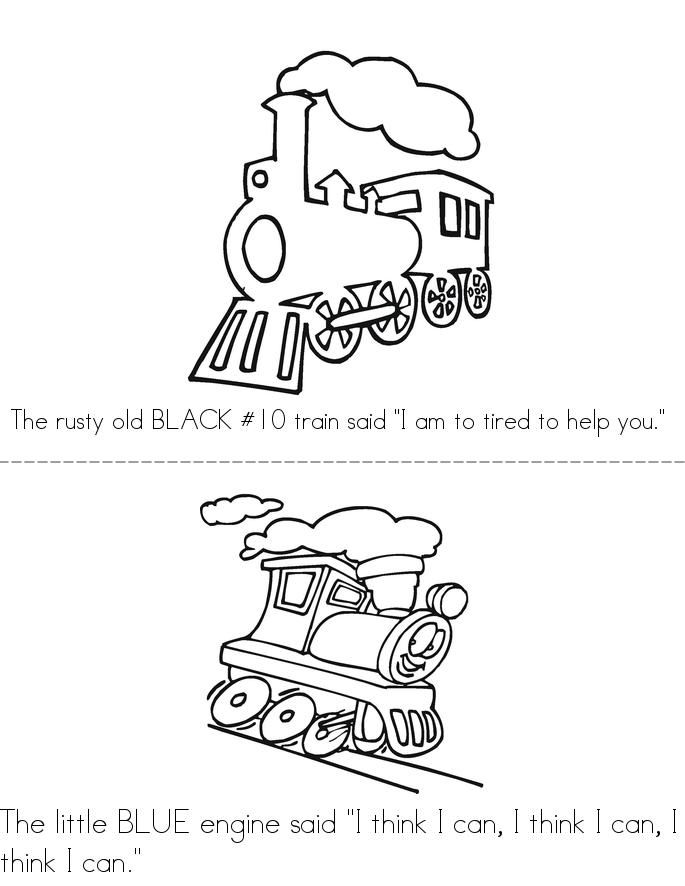 The Little Engine That Could Book Twisty Noodle Little Engine