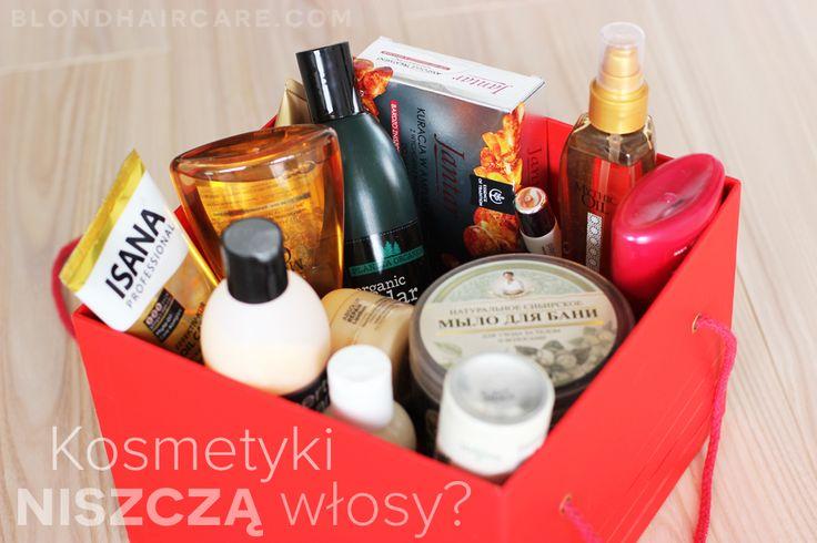 Czy kosmetyki niszczą włosy? - Pielęgnacja Włosów Blog