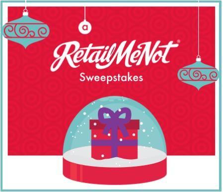 RetailMeNot Snow Me The Money Sweepstakes and IWG
