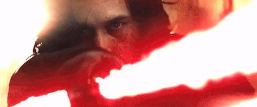 """Omg this is from the last Jedi trailer that premiered last Friday! I watched it live from the Star Wars show live stream and you would not believe the amount of people screaming when Rian said """"of course we have a trailer!"""""""