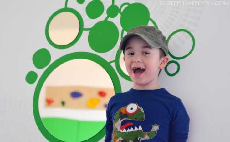 Kid Friendly Wall Art for an Indoor Sensory Playroom - bystephanielynn