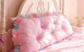 Тканевое изголовье для детской кровати