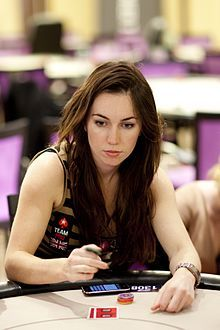 """Olivia """"Liv"""" Boeree (born 18 July 1984) is a poker player, TV presenter and model from England who won the 2010 European Poker Tour in San Remo. Born in Kent, Boeree studied Physics with Astrophysics at the University of Manchester before moving to London at age 21."""