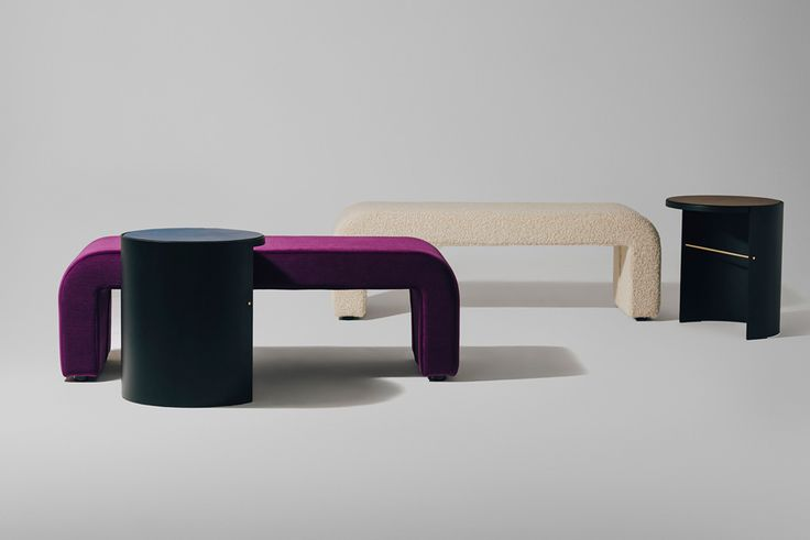 grazia and co australian made furniture, including authentic featherston pieces - Reeno bench