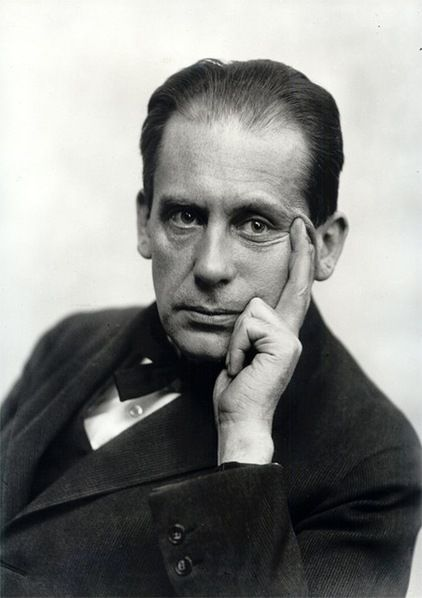 Walter Gropius He was a Germany Architect and founder of Bauhaus School. In spite of the fact that he's an architect, the Bauhaus didn't have an architecture depArtment during the first years of its existence. So, he put everything together including the architectural art in one.
