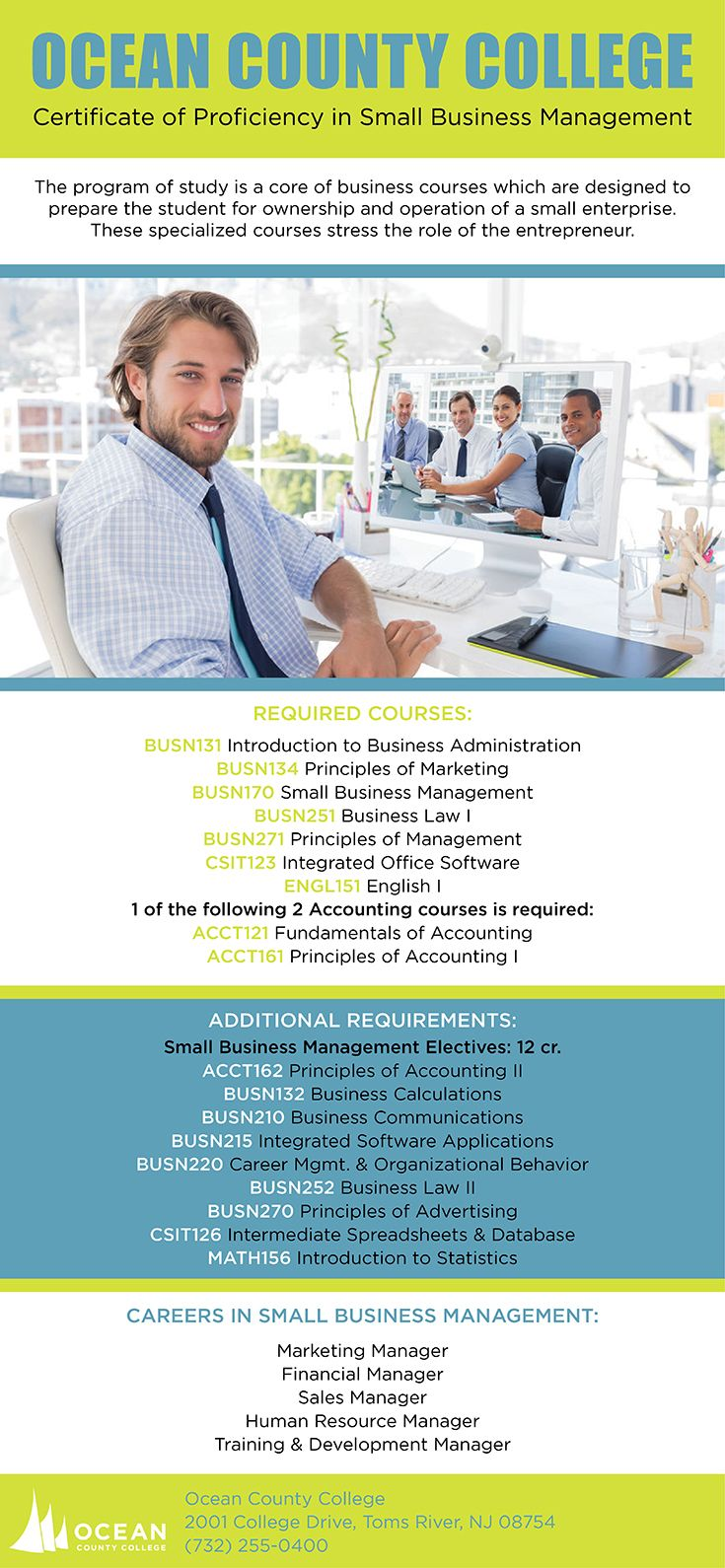Certificate Of Proficiency In Small Business Management School Of