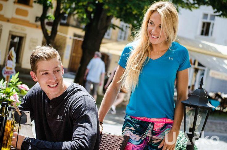 Bára Procházková atletika a Dominik Dvořák bobista