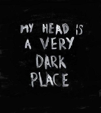 Sometimes... #dark #darkness #darkplace