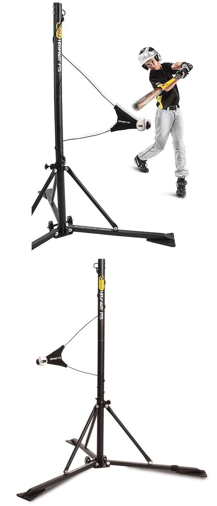 39244 best discount softball pitching machines images on pinterest other baseball training aids 181332 sklz hit a way pts portable baseball batting pooptronica Gallery