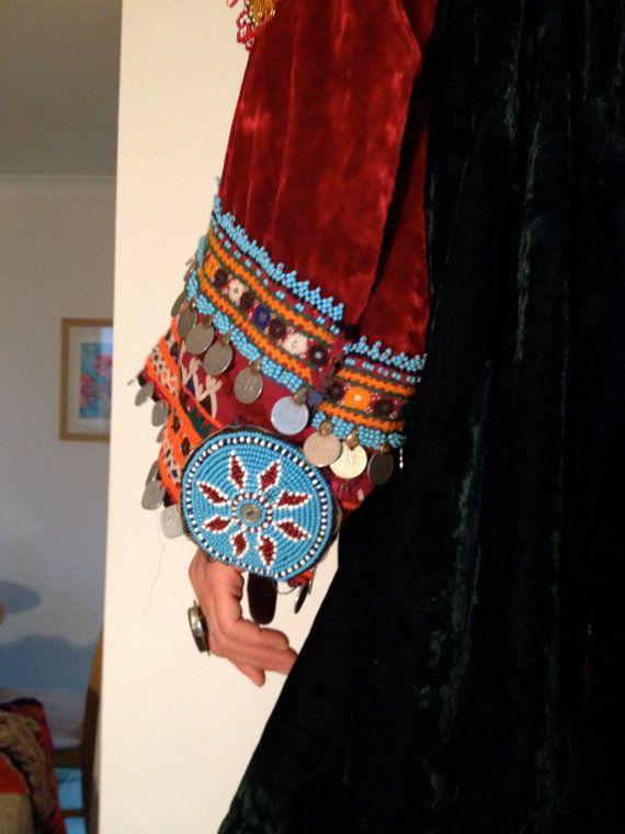Handgemachte dunkel grün Jahrgang traditionelle von SunyataJewels
