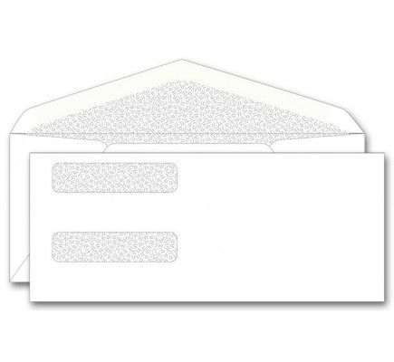 Order Confidential Double Window Envelopes  9169  at Printez com  Receive free company logo and free shipping on Check Envelopes and all Envelopes  Use promo code 18950
