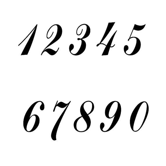 The 25+ best Number stencils ideas on Pinterest | Number template ...