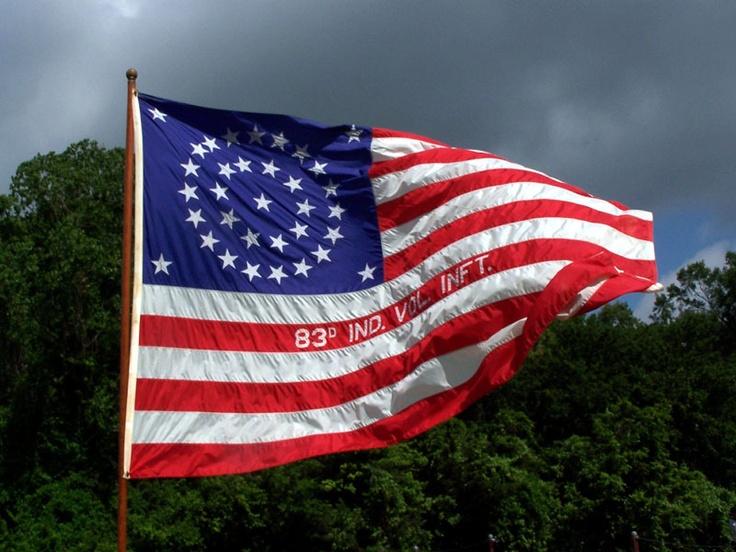 Regimental Flag of 83rd Indiana Infantry