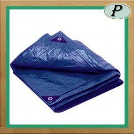 Toldos reforzados de color azul, de polietileno, impermeables, grosor importante de 120 g / m2.  Comprar online aquí: http://www.planas.pro/es/lonas-impermeables/586-toldo-reforzado-azul-120-gr.html
