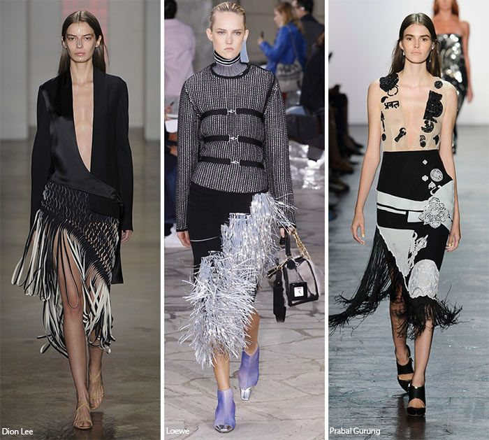 Spring/ Summer 2016 Fashion Trends: Fringed Hems  #trends #fashiontrends