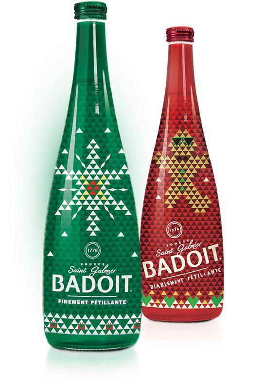 Badoit - Xmas 2015 Limited Edition