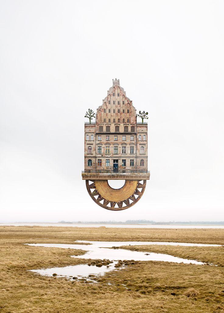 Las casas imaginarias de Mattias Jung