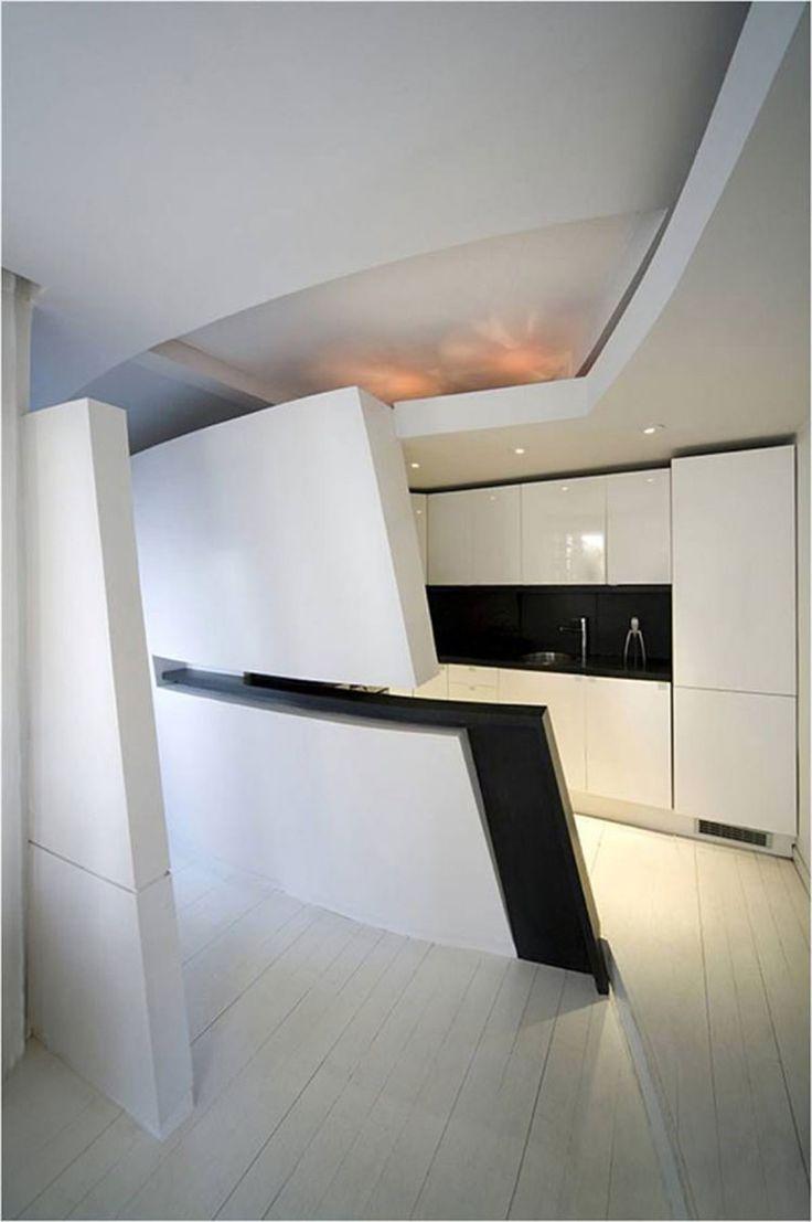 111 best futuristic kitchen images on pinterest modern kitchens modern and futuristic penthouse in madrid kitchen