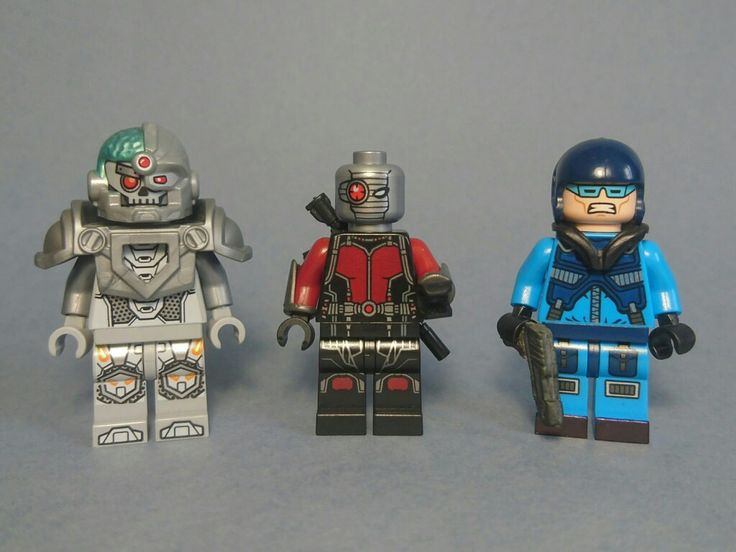 Grid(Crime Syndicate Cyborg), Deadshot and Captain Cold from Injustice 2