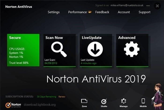 Norton security deluxe download.