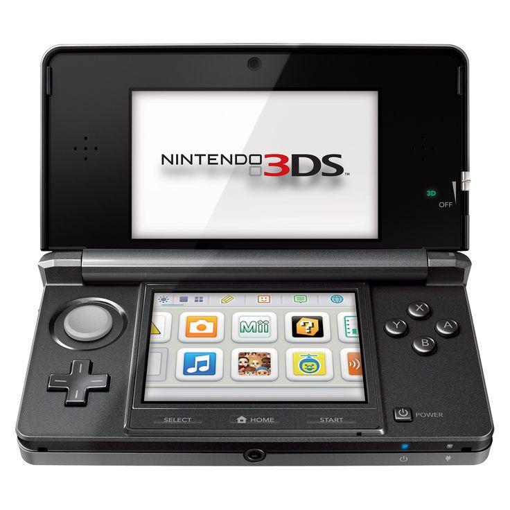 Nintendo 3DS Console - Cosmo Black Nintendo 3DS