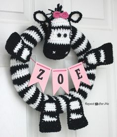 If you follow me on Instagram you've been seeing bits and pieces of this project over the past week. And here it is in its entirety! I made this Zebra Wreath for my daughters bedroom door but it also will go on our front door at her zebra-themed birthday party next month. The best part about this …