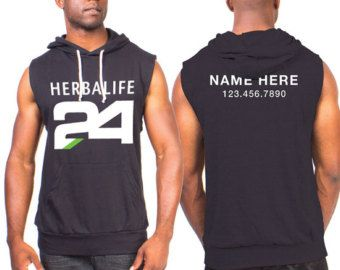 Custom Herbalife Nutrition Tank Top Gray by DesignGnome on Etsy