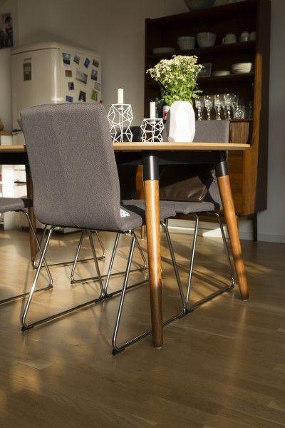 Edelweiss Ausziehbarer Esstisch, Esche Und Grau ▻ Neues Design Für Dein  Zuhause! Entdecke Jetzt