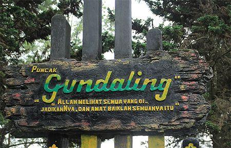 Bukit Gundaling Sumatera Utara