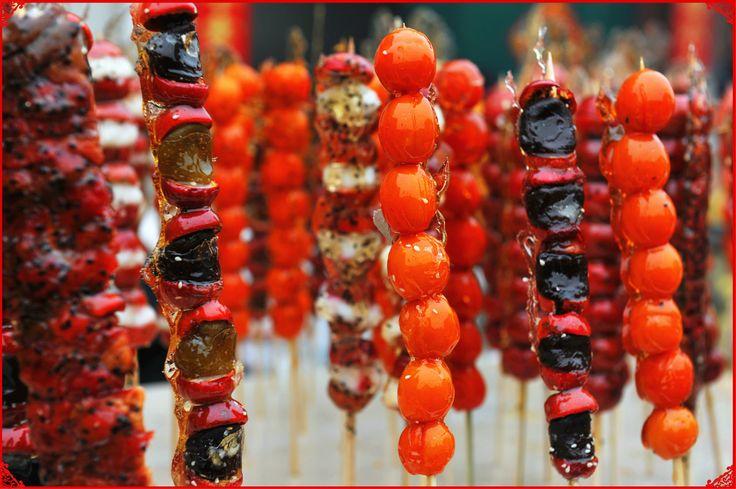 Beijing Street Snack: Tanghulu