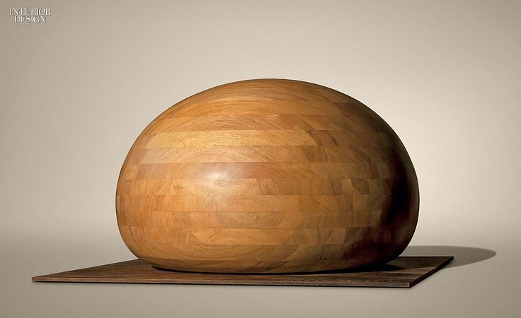 An Architect's Artist: Jorge Palacios Sculptures in Hardwood in New York #interiordesign #interiordesignmagazine #design #art
