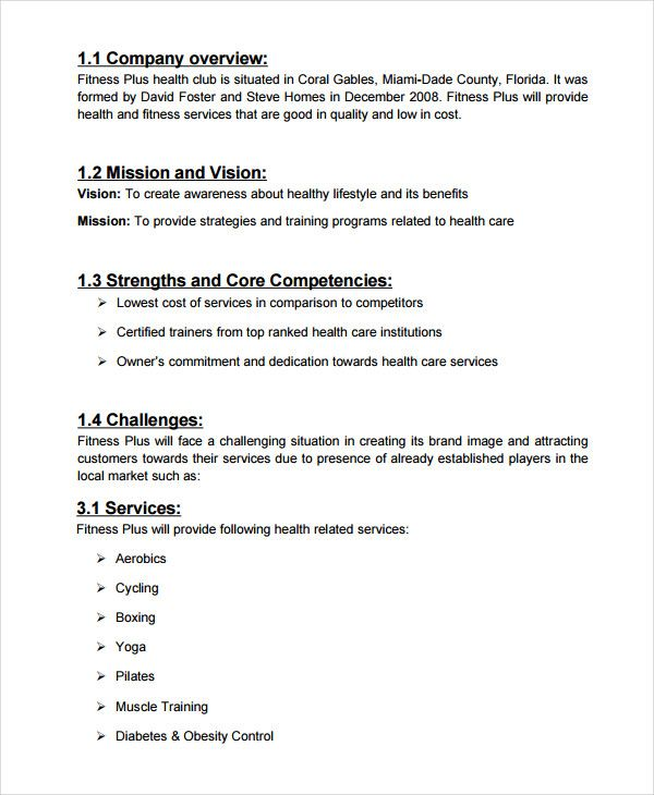 salon business plan sample