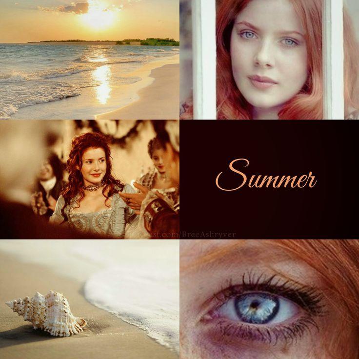 «El verano sería aquella alegre, cálida y risueña. Que fuera capaz de llevar el calor y la vitalidad a todas partes.»